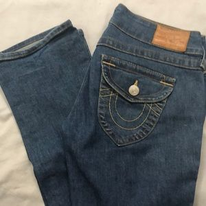 True Religion Boot Cut Jeans Size 27